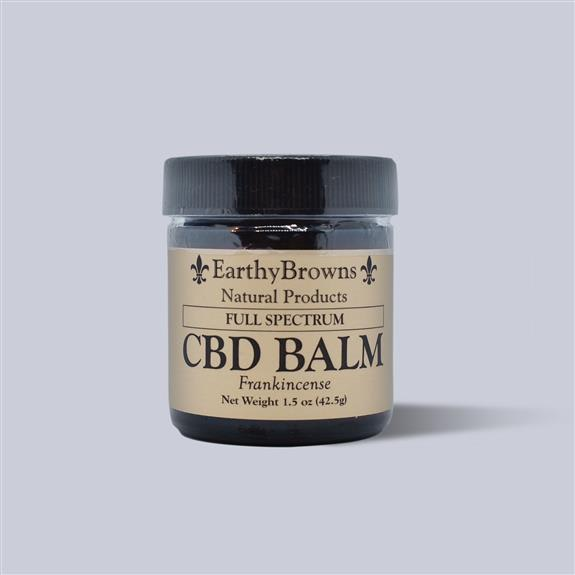 500 mg Full Spectrum CBD balm (1.5oz) in frankincense flavor $45