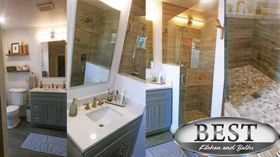 Bathrooms, Laundry Rooms, Powder Rooms, Closets. www.bestkab.com