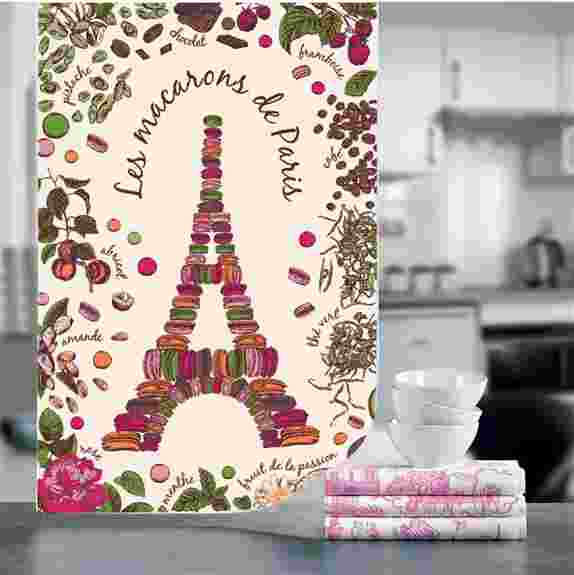 Bring the beauty and elegance of French Decoration to your Home with our Exclusive Designs Kitchen Towels.<br />Those decorative tea towels area welcome addition to bright up your kitchen rack, line a bread basket, cover your toaster and cheer up your BBQ