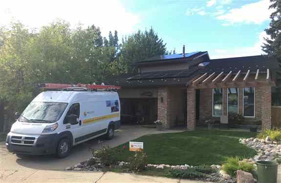 Helping homeowners in Western Canada to mitigate rising electricity prices and be energy secure.