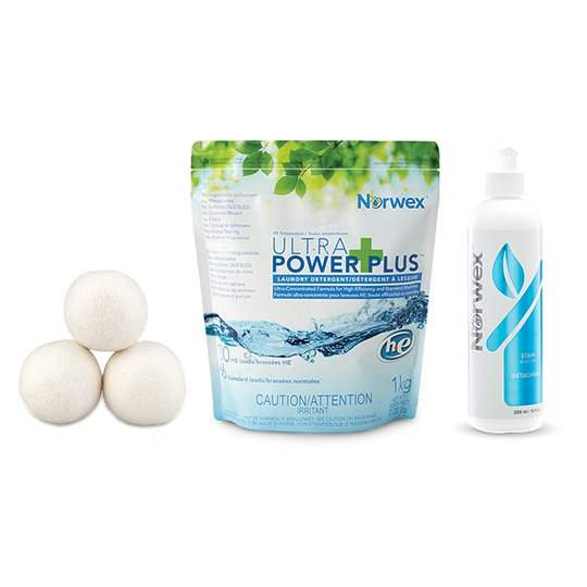 Our laundry products are concentrated, have no fillers, perfumes or fragrances and clean amazingly!