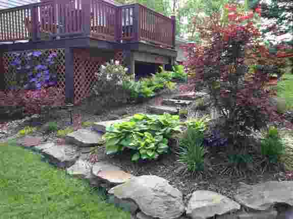 Do you have that difficult, unsightly slope in your backyard. Have a creative landscape architect design a solution that is the envy of the neighborhood!