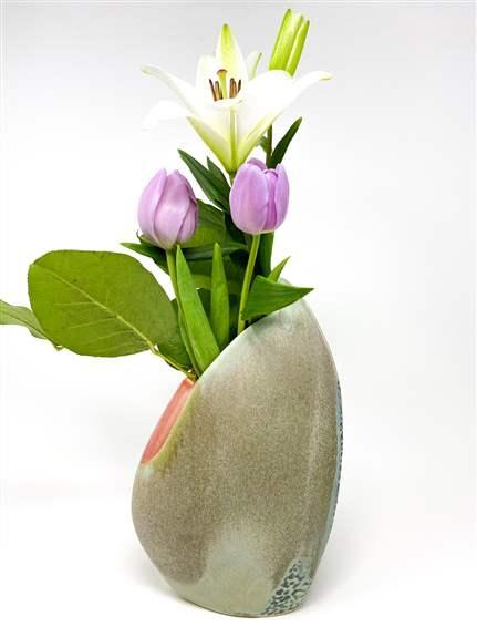 Handmade Vase by Deb Schwartzkopf at Rat City Studios
