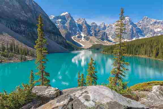 'True Blue', Moraine Lake, Banff National Park. Limited Edition of 100.