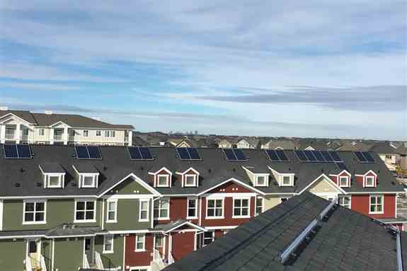 Offering solar value add for home builders selling to environmentally conscious buyers.