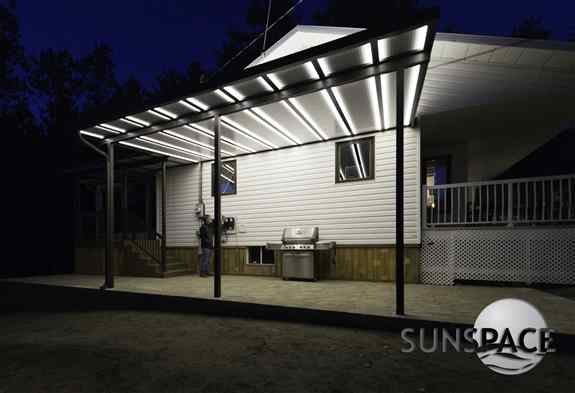 Sunspace Patio Covers, what we want when it is hot or raining. All custom manufactured. Checkout our products online. www.sunspacesunrooms.com