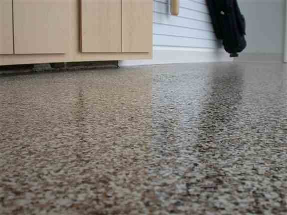 Our 24-Hour Poly-Urea Floor coating is an excellent option when a limited amount of time is available for installation. Our team can complete this floor in one day!