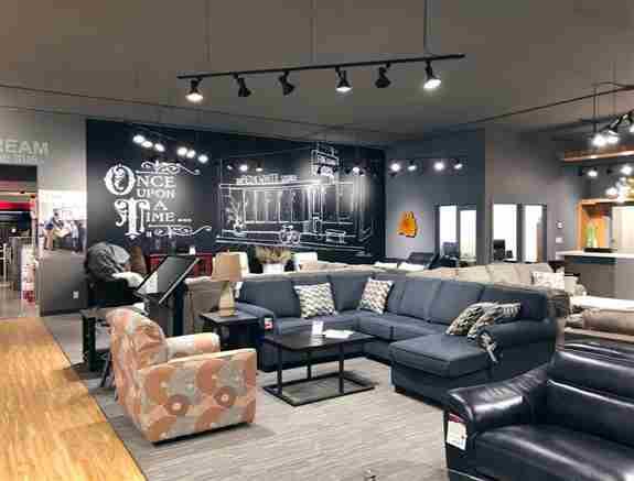Newly Renovated Furniture Showroom