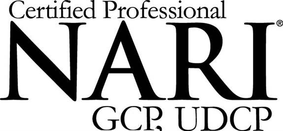 Certified Green Professional & Universal Design Certified Professional logo