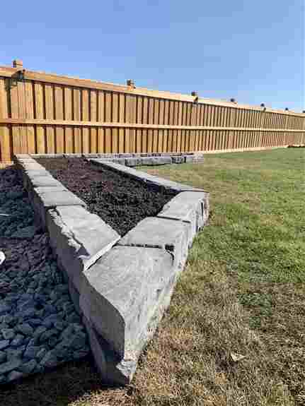 Semi Estate, New Build Residential Project, Raised Planting Bed