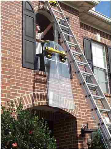 We can fix your broken glass. Our technicians are experts at installing new glass.