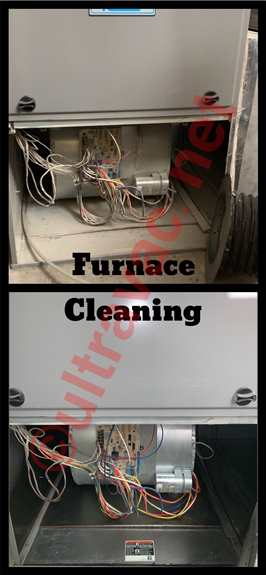 A thorough furnace blower fan and housing cleaning is always a great idea when you are having your ducts cleaned!