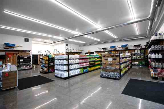 Inside Retail Space