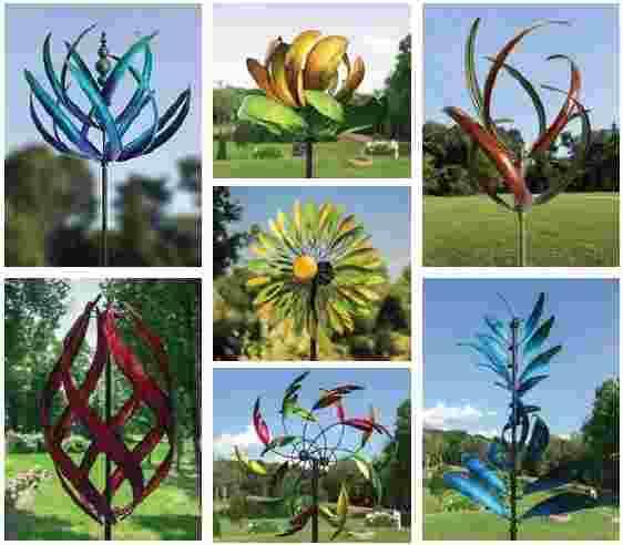 Assorted Garden Spinners