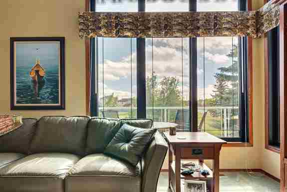 Windows don't have to be white! Add style to your home with interior wrap options for your windows.