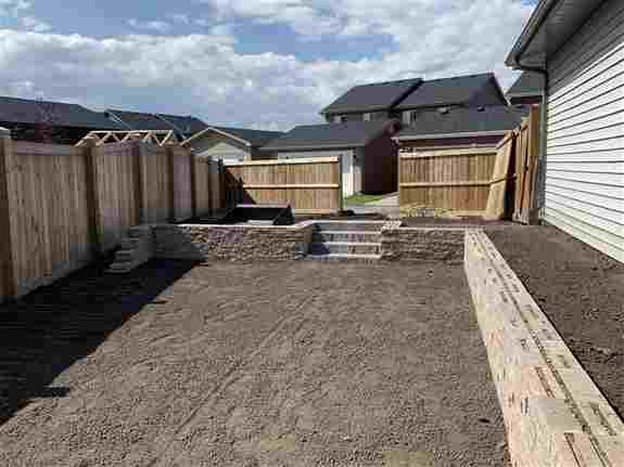 Rear Detached Laned Homes, New Build Residential Project, Retaining Wall
