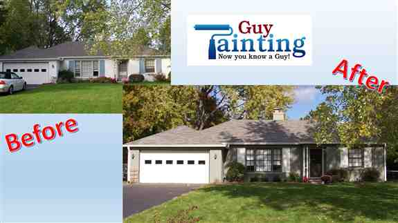This out of date home looks great for the new owners!  Paint can do that for  you too!