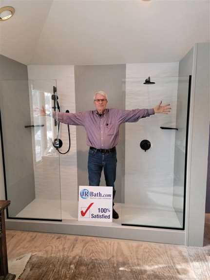 Glass panels, Duel shower heads, and more. If you can dream it, we can build it.