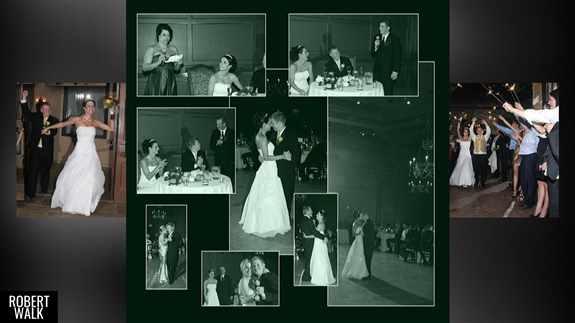 Wedding Event Collage