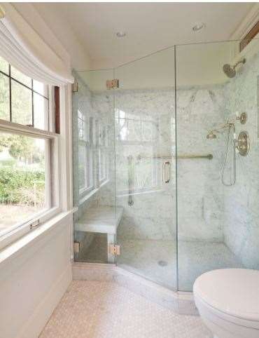 Let us install your glass shower enclosures.