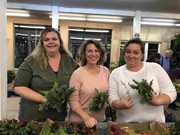 As soon as it's safe to gather again, we do offer informational and hands on classes. Featured here is our annual wreath making workshop. Sign up for our newsletter via our website to stay in touch about future events.