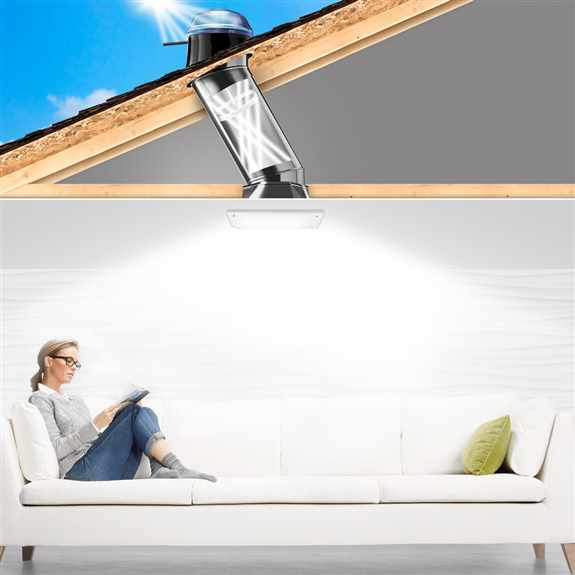 Kick back and relax knowing you have the brightest, healthiest and eco-friendly light in your home.