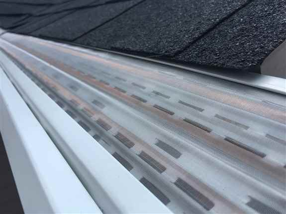 Only Gutter Cover Interlaced with Copper to Withstand the Northwest Elements. Breaks down Algae, Tree pitch, Roof Tar and all Organic Matter so that your screen is clog free of cake build-up