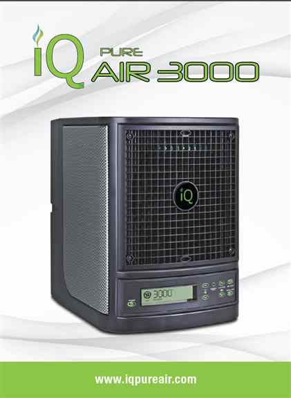 IQ Pure Air-A simple to use air purifier that will render benefits beyond your imagination. The Air Purifier iQ3000 adopts the newest purification technology that helps disinfect counter tops and other spaces. This air purifier gives a new lease of life t