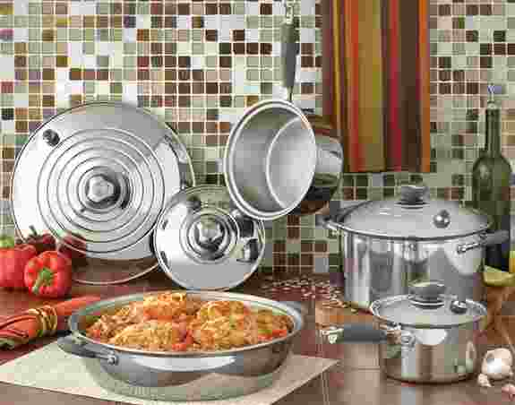 Surgical Stainless Steel Cookware Sets with 50 Year Warranty!!!