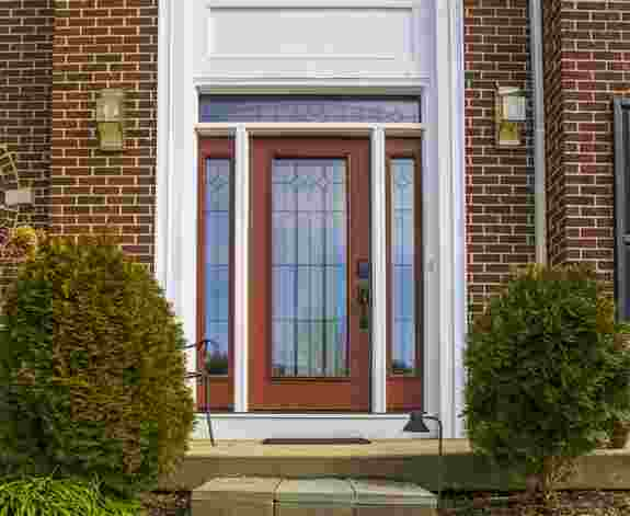 A new fiberglass entry door from Universal Windows Direct increases your home's curb appeal, safety, and security! Ask us today about ways a new entry door could enhance your home.