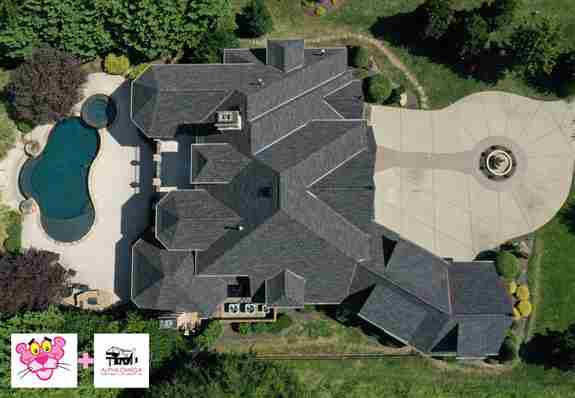 Brand new roof by Alpha Omega
