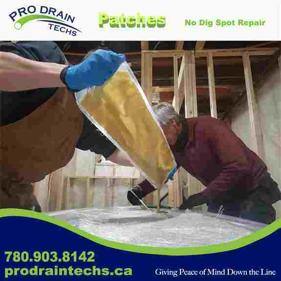 Fiberglass and Epoxy Patch - When there is one spot that's a concern. This No Dig repair is the strong, fast and non invasive.