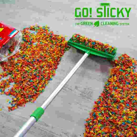 Go Sticky: The green cleaning system
