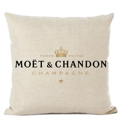 Champagne lounge outdoor pillows