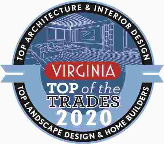 VA Living 2020 Top of the Trades Winner logo