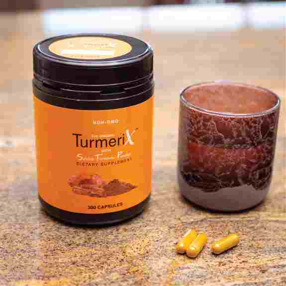 Available in capsules or powder. TurmeriX is a quality, turmeric-based supplement that works! This formula is unlike any other, offering layers of health benefits & includes ingredients known for helping with pain from inflammation and MUCH more.
