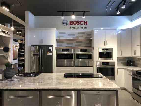 Bosch Appliance Showroom