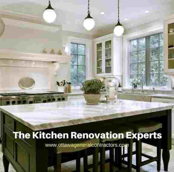 Ottawa General Contractors Kitchen Renovation experts.