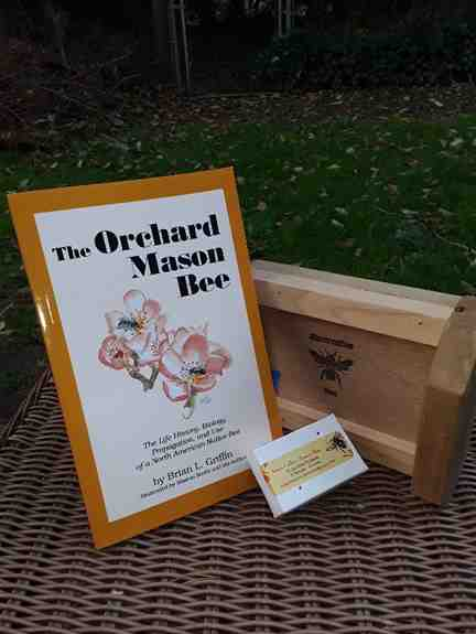 Gift Set for your garden and nature loving friends and family!  $60 includes beginner book, 25 loose cocoons with instructions, and observation nesting house so you can view the magic.  Free Shipping!