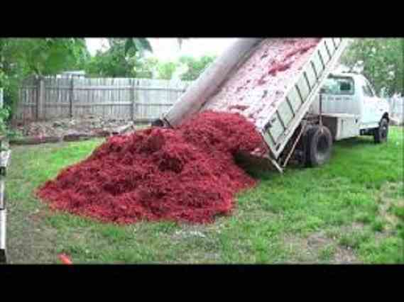 A load of Red Mulch!