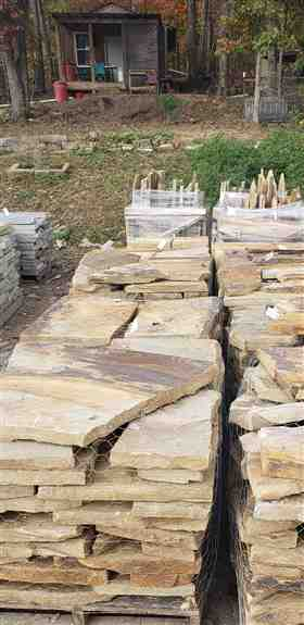 Flagstone for stepping stones, patios, walkways and pool decks