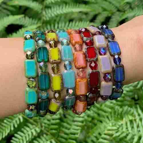 Rectangle Stretchy Bracelet