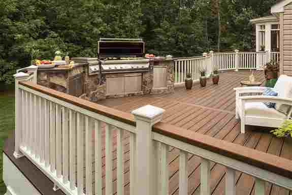 Decks, Railings & Fencing<br />• Composite<br />• Aluminum Railings<br />• Glass Railings<br />• Cable Railings<br />• Sedar & Treated<br />• Ornamental Fencing<br />• Chain Link Fencing<br />