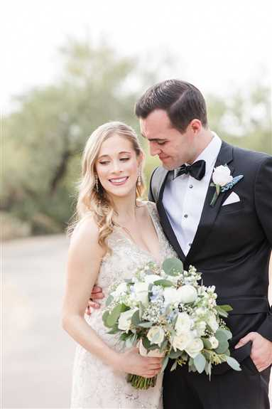 Our beautiful bride hair her makeup and hair done by our gold level artists