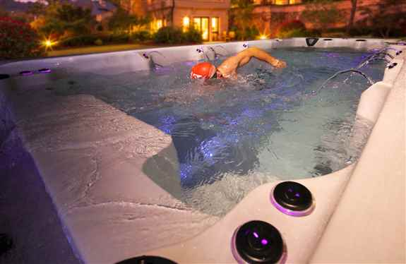 Swim Spas are quickly becoming the go to project for your back yard.  Easy to install products with little mess, they appeal to everyone.  They can be used as a pool, or heated a little more to be used as a hot tub.  If you are looking for some exercise,