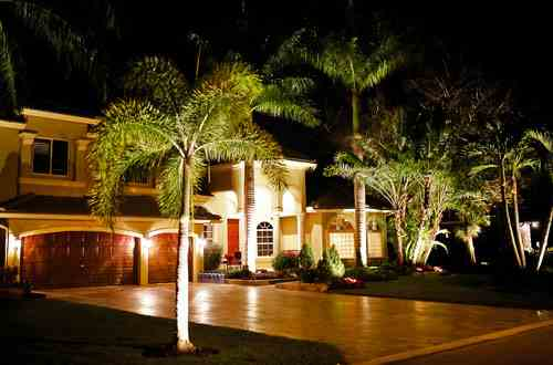 outdoor lighting, We use an all brass lighting fixture that will not break or fade over time. Our light have a 5 year warranty.