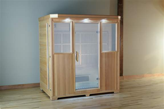 Good Health Saunas' 4 Person Infrared Sauna is our largest sauna, and offers a comfortable design and ample space for up to four adults. The bountiful options in this infrared sauna can be completely customized to fit the overall wellness wants and needs