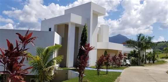 Custom build house in Njoi Trujillo development