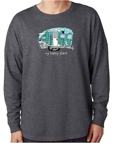 My Happy Place (camper 2020)<br /><br />J.America Unisex Game Day Jersey