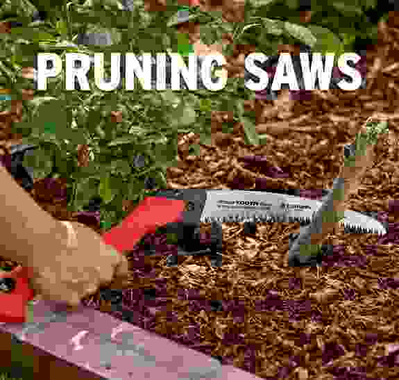 Tackle larger pruning jobs with the Corona's RazorTOOTH Saws available with folding and fixed handles.